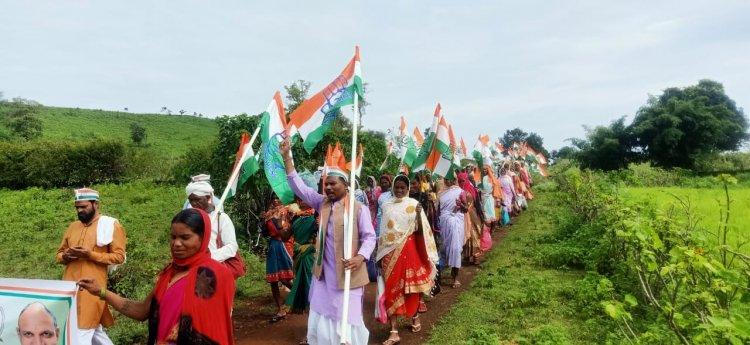 गाँधीजी के आदर्शों के साथ जनता के अधिकारों की लड़ाई लड़ते रहेंगे - नारायण सिंह पट्टा