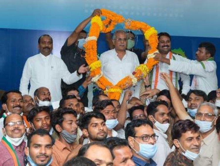 सारंगढ़-बिलाईगढ़ क्षेत्रवासियों ने मुख्यमंत्री का आभार जताया