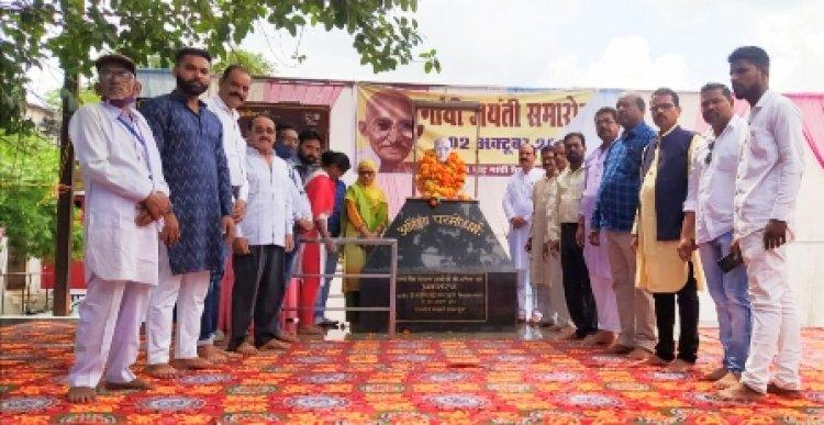 गांधी शास्त्री के विचारों और संघर्षों का देश है भारत : राकेश तिवारी