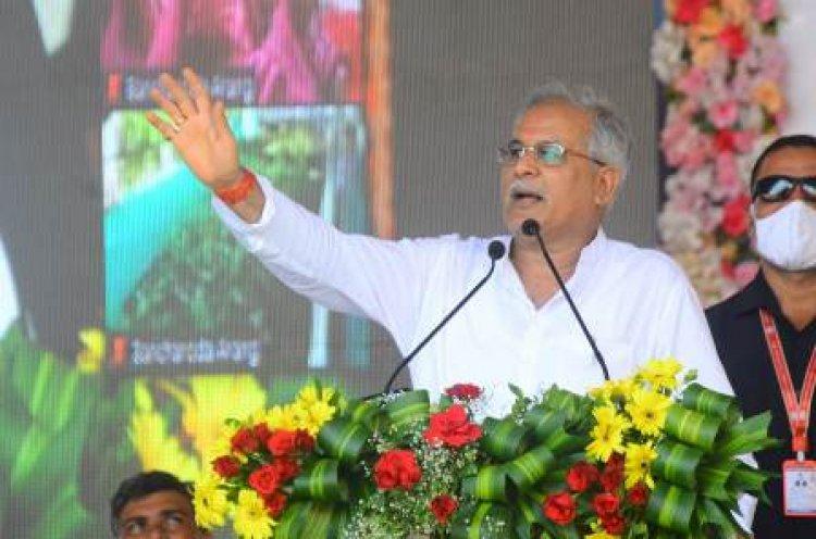 मुख्यमंत्री ने बेमेतरा जिले को दी 503 करोड़ रूपए की सौगात